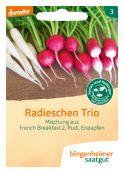 Radieschen Trio – buy organic seeds online - Bingenheim Online Shop
