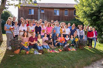 Das Team der Bingenheimer Saatgut AG im September 2019